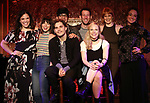 Lindsay Mendez, Krysta Rodriguez, Andy Mientus, George Salazar, Nick Blaemire, Lauren Marcus, Kate Baldwin and Melissa Errico attend the Feinstein's/54 Below Press Preview on October 3, 2018 at Feinstein's/54 Below in New York City.