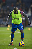 2nd December 2017, The Hawthorns, West Bromwich, England; EPL Premier League football, West Bromwich Albion versus Crystal Palace; Mamadou Sakho of Crystal Palace warming up with a ball before the match