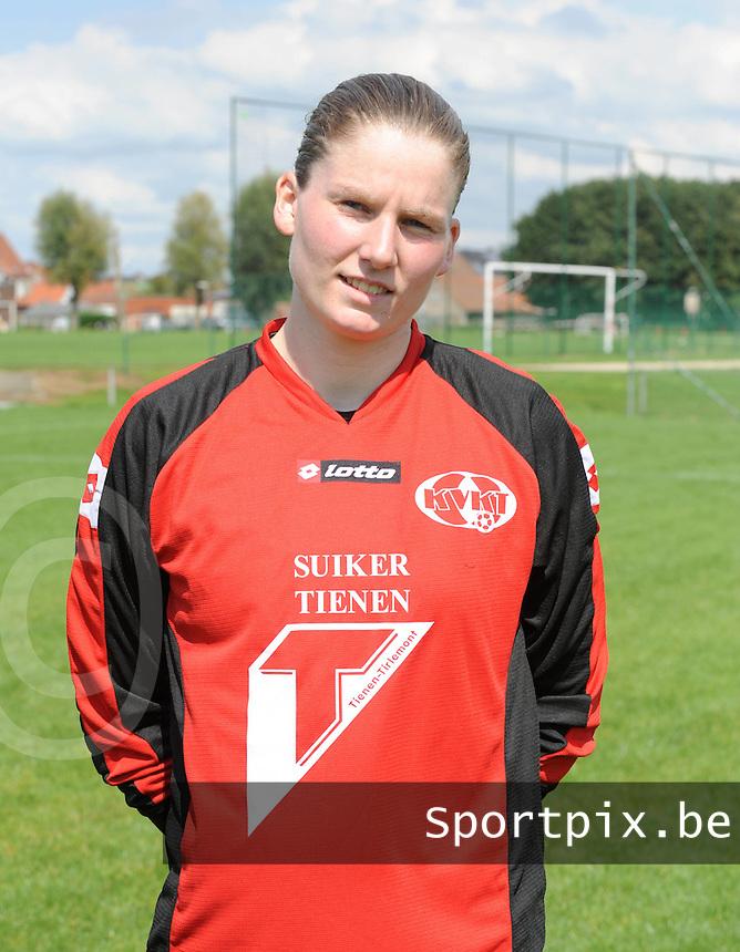 KVK Eva ' s Tienen : Sofie Van Houtven.foto DAVID CATRY / Vrouwenteam.be