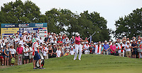Rafa Cabrera-Bello (ESP) chips to the 3rd during Round Three of the 2015 Alstom Open de France, played at Le Golf National, Saint-Quentin-En-Yvelines, Paris, France. /04/07/2015/. Picture: Golffile | David Lloyd<br /> <br /> All photos usage must carry mandatory copyright credit (© Golffile | David Lloyd)