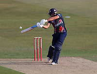 Jack Leaning hits out for Kent during Kent Spitfires vs Essex Eagles, Vitality Blast T20 Cricket at The Spitfire Ground on 18th September 2020