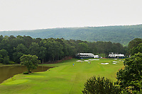 Low clouds begin to roll in over the hillside on 14 during round 2 of the U.S. Women's Open Championship, Shoal Creek Country Club, at Birmingham, Alabama, USA. 6/1/2018.<br /> Picture: Golffile | Ken Murray<br /> <br /> All photo usage must carry mandatory copyright credit (&copy; Golffile | Ken Murray)