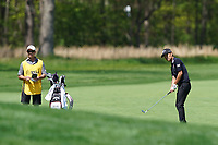Kevin Na (USA) on the 13th fairway during the 1st round at the PGA Championship 2019, Beth Page Black, New York, USA. 17/05/2019.<br /> Picture Fran Caffrey / Golffile.ie<br /> <br /> All photo usage must carry mandatory copyright credit (&copy; Golffile | Fran Caffrey)