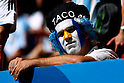 Argentina fans (ARG), JULY 5, 2014 - Football / Soccer : FIFA World Cup Brazil 2014 Quarter-finals match between Argentina 1-0 Belgium at Estadio Nacional in Brasilia, Brazil. (Photo by D.Nakashima/AFLO)