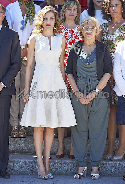 26 July 2016 - Madrid, Spain - Queen Letizia during the 25th Fedepe awards ceremony in Madrid. Fedepe is the Spanish Federation of businesswoman, comprising managers, executives, professionals and entrepreneurs. Photo Credit: PPE/face to face/AdMedia