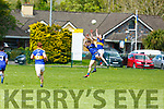 Renards Killian Young and Cordal's Pholip O'Connor try to gain aerial possession in the Junior Club Football Championship semi final in Beaufort on Sunday.