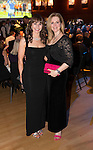 St Johnstone FC Scottish Cup Celebration Dinner at Perth Concert Hall...01.02.15<br /> Rachael Simms and Karin Ferguson<br /> Picture by Graeme Hart.<br /> Copyright Perthshire Picture Agency<br /> Tel: 01738 623350  Mobile: 07990 594431