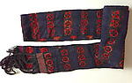 Vintage Sash or cummerband to be tied over the overcoat at the waist.