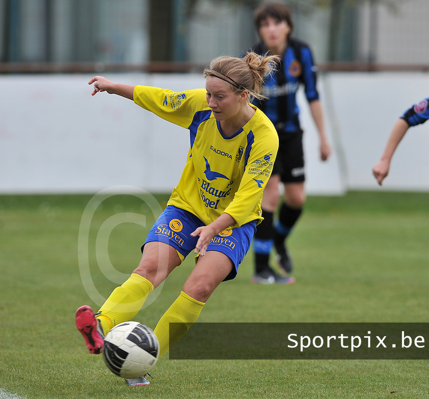 Club Brugge Dames - STVV Sint Truidense VV : Eleen Kimps.foto DAVID CATRY / Nikonpro.be