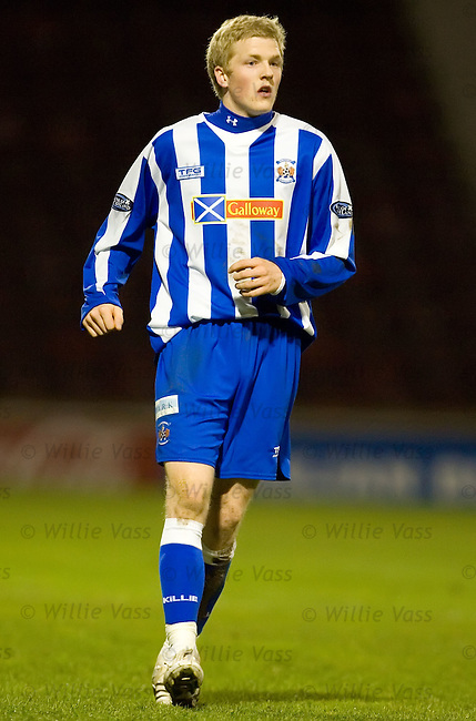 Willie Gibson, Kilmarnock.stock season 2006-2007.pic willie vass