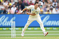 26th December 2019; Melbourne Cricket Ground, Melbourne, Victoria, Australia; International Test Cricket, Australia versus New Zealand, Test 2, Day 1; Trent Boult of New Zealand bowls - Editorial Use