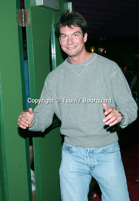 """Jerry O'Connell arriving at the premiere of """"Kiss The Bride"""" at the Showcase Regent Theatre in Los Angeles. October 23, 2002.            -            O'ConnellJerry28.jpg"""
