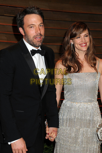 02 March 2014 - West Hollywood, California - Ben Affleck, Jennifer Garner. 2014 Vanity Fair Oscar Party following the 86th Academy Awards held at Sunset Plaza.  <br /> CAP/ADM/BP<br /> &copy;Byron Purvis/AdMedia/Capital Pictures