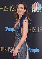 "HOLLYWOOD- SEPTEMBER 26:  Mandy Moore at the premiere of NBC's ""This Is Us"" Season 2 at NeueHouse Hollywood on September 26, 2017 in Hollywood, California. (Photo by Scott Kirkland/PictureGroup)"