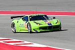 Tracy Krohn (57), Krohn racing driver in action during the World Endurance Championship Race (FIA/WEC) at the Circuit of the Americas race track in Austin,Texas.