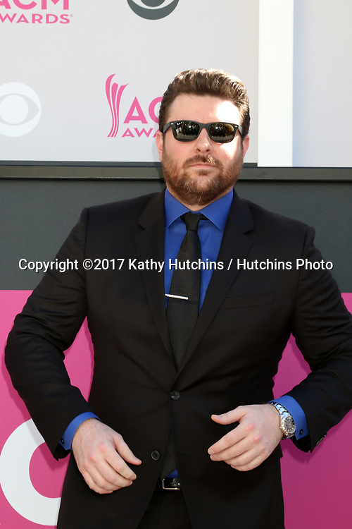 LAS VEGAS - APR 2:  Chris Young at the Academy of Country Music Awards 2017 at T-Mobile Arena on April 2, 2017 in Las Vegas, NV