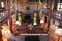 63895-051.09 Giant City State Park Lodge, interior    IL