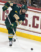 Trey Phillips (UVM - 26) - The visiting University of Vermont Catamounts tied the Boston College Eagles 2-2 on Saturday, February 18, 2017, Boston College's senior night at Kelley Rink in Conte Forum in Chestnut Hill, Massachusetts.Vermont and BC tied 2-2 on Saturday, February 18, 2017, Boston College's senior night at Kelley Rink in Conte Forum in Chestnut Hill, Massachusetts.