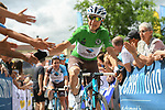 Axel Domont (FRA) AG2R La Mondiale at sign on before the start of Stage 2 of the Criterium du Dauphine 2017, running 171km from Saint-Chamond to Arlanc, France. 5th June 2017. <br /> Picture: ASO/A.Broadway | Cyclefile<br /> <br /> <br /> All photos usage must carry mandatory copyright credit (&copy; Cyclefile | ASO/A.Broadway)