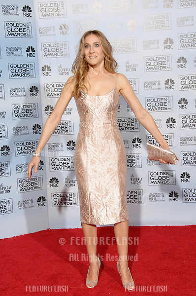 SARAH JESSICA PARKER at the 64th Annual Golden Globe Awards at the Beverly Hilton Hotel..January 15, 2007 Beverly Hills, CA.Picture: Paul Smith / Featureflash