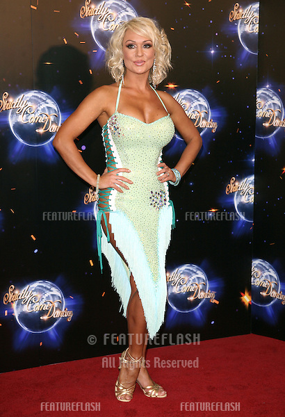 Kristina Rihanoff  arriving for the 2011 Strictly Come Dancing Launch, at the BBC Centre, London. 07/09/2011 Picture by: Alexandra Glen / Featureflash