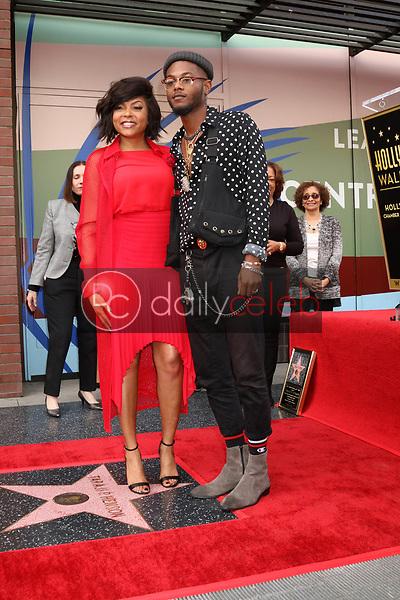 Taraji P Henson, Marcell Johnson<br /> at the Taraji P. Henson Star on the Hollywood Walk of Fame, Hollywood, CA 01-28-19<br /> David Edwards/DailyCeleb.com 818-249-4998