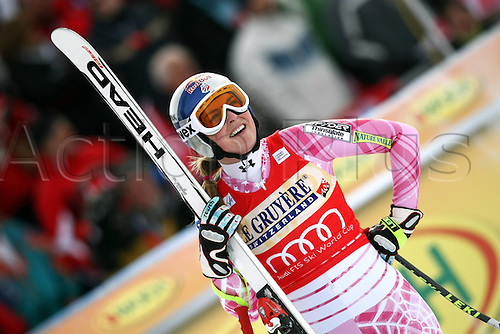 30 01 2010  FIS WC St Moritz Downhill women St Moritz Switzerland  Picture shows Lindsey Vonn USA .
