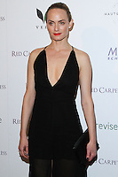 "WEST HOLLYWOOD, CA, USA - FEBRUARY 27: Amber Valletta at the 5th Anniversary Celebration Of Suzy Amis Cameron's Ecofashion Campaign ""Red Carpet Green Dress"" held at Palihouse on February 27, 2014 in West Hollywood, California, United States. (Photo by David Acosta/Celebrity Monitor)"