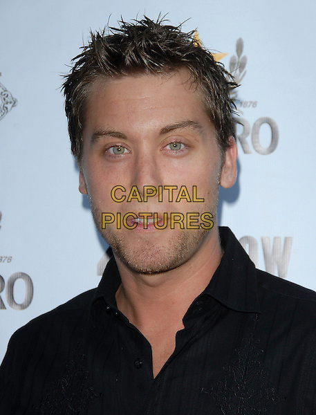 "LANCE BASS.attends The Launch of Jaime Pressly and Hill Harper's ""Adopt-a-School Initiave"" held at RJ Cutler's Estate in The Hollywood Hills, California, USA, August 12, 2006..portrait headshot.Ref: DVS.www.capitalpictures.com.sales@capitalpictures.com.©Debbie VanStory/Capital Pictures"