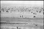 Drought-striken hills near Agad&egrave;s. <br /> Niger, March 1974<br /> <br /> La r&eacute;gion d'Agad&egrave;s d&eacute;vast&eacute;e par la s&egrave;cheresse.<br /> Niger, mars 1974  <br /> <br /> Nikon F  200mm Tri-x