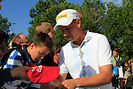 Marcel Siem (GER) signs autographs at the end of Day 2 of the BMW International Open at Golf Club Munchen Eichenried, Germany, 24th June 2011 (Photo Eoin Clarke/www.golffile.ie)