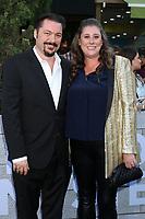 "LOS ANGELES - JUN 10:  James Vanderbilt, Amber Vanderbilt at the ""Murder Mystery"" Premiere at the Village Theater on June 10, 2019 in Westwood, CA"