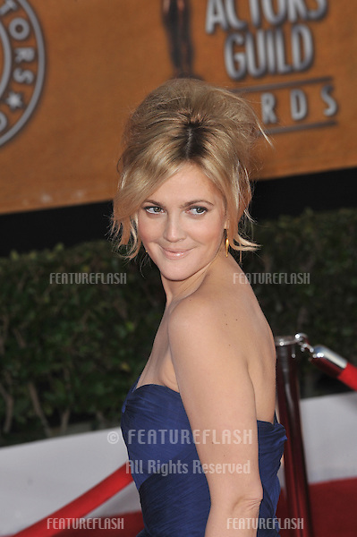 Drew Barrymore at the 16th Annual Screen Actor Guild Awards at the Shrine Auditorium..January 23, 2010  Los Angeles, CA.Picture: Paul Smith / Featureflash