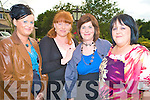 Maire O'Mahony, Marguerite Rea, Joanne Linehan and Norma Lawlor enjoying the Alps Bar-B-Q in Darby O'Gills on Friday evening....