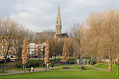St Mary Magdalene Church and Westbourne Green