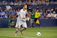 Sporting Park, Kansas City, Kansas, July 31 2013:<br /> Morgan De Sanctis (goalkeeper) AS Roma.<br /> MLS All-Stars were defeated 3-1 by AS Roma at Sporting Park, Kansas City, KS in the 2013 AT & T All-Star game.