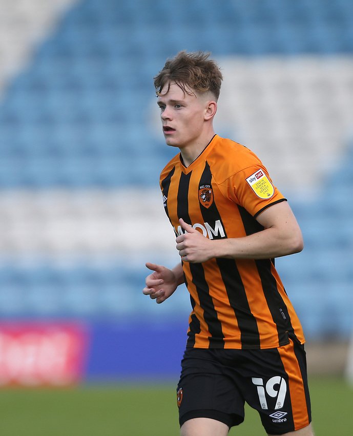 Hull City's Keane Lewis-Potter<br /> <br /> Photographer Rob Newell/CameraSport<br /> <br /> The EFL Sky Bet League One - Gillingham v Hull City - Saturday September 12th 2020 - Priestfield Stadium - Gillingham<br /> <br /> World Copyright © 2020 CameraSport. All rights reserved. 43 Linden Ave. Countesthorpe. Leicester. England. LE8 5PG - Tel: +44 (0) 116 277 4147 - admin@camerasport.com - www.camerasport.com