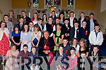 Pupils from Bouleenshere National School, Ballyheigue who were confirmed by Bishop of Kerry Bill Murphy. .
