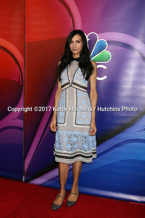 LOS ANGELES - JAN 18:  Famke Janssen at the NBC/Universal TCA Winter 2017 at Langham Hotel on January 18, 2017 in Pasadena, CA