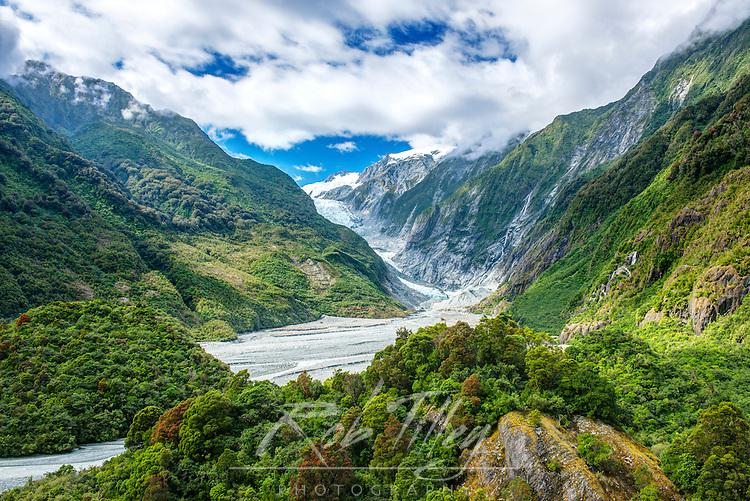 NZ, South Island, Westland NP, Frans Joseph Glacier