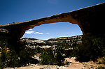 UT: Utah; Arches National Park, Owachomo Bridge                 .Photo Copyright: Lee Foster, lee@fostertravel.com, www.fostertravel.com, (510) 549-2202.Image: utarch226