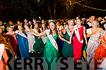 Sinéad Flanagan, Limerick, 2019 Rose of Tralee celebrates with the Roses in Denny Street on Tuesday night.