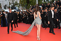 Sonia Ben Ammar at the gala screening for &quot;BLACKKKLANSMAN&quot; at the 71st Festival de Cannes, Cannes, France 14 May 2018<br /> Picture: Paul Smith/Featureflash/SilverHub 0208 004 5359 sales@silverhubmedia.com