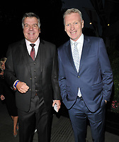 Sam Allardyce and David Moyes at the Legends of Football 23rd annual football awards gala 2018, Grosvenor House Hotel, Park Lane, London, England, UK, on Monday 08 October 2018.<br /> CAP/CAN<br /> ©CAN/Capital Pictures