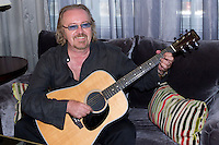 "21.08.2012. Posed of the singer Umberto Tozzi in the Palace Hotel in Madrid to promotion  his new album titled ""Yesterday"" and his tour of Spain. In the image Umberto Tozzi (Alterphotos/Marta Gonzalez) /NortePhoto.com"