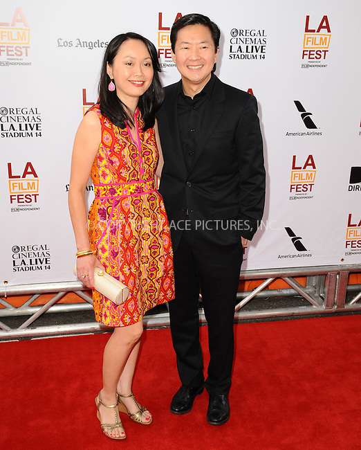 WWW.ACEPIXS.COM<br /> <br /> June 23 2013, LA<br /> <br /> Ken Jeong at the 2013 Los Angeles Film Festival premiere of the Fox Searchlight Pictures' 'The Way, Way Back' held on June 23, 2013 in Los Angeles, California.<br /> <br /> By Line: Peter West/ACE Pictures<br /> <br /> <br /> ACE Pictures, Inc.<br /> tel: 646 769 0430<br /> Email: info@acepixs.com<br /> www.acepixs.com