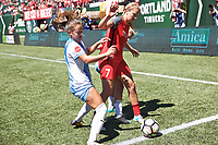 Portland, OR - Saturday August 05, 2017: Lindsey Horan during a regular season National Women's Soccer League (NWSL) match between the Portland Thorns FC and the Houston Dash at Providence Park.
