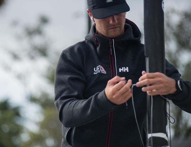Luke Muller, photo: Belle Strachan/US Sailing Team