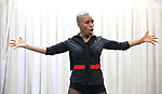 Brenda Braxton during the rehearsal for 'And The World Goes 'Round' - The Abingdon Theatre Company's 25th Anniversary Gala at the Pearl Studios on October 16, 2017 in New York City.