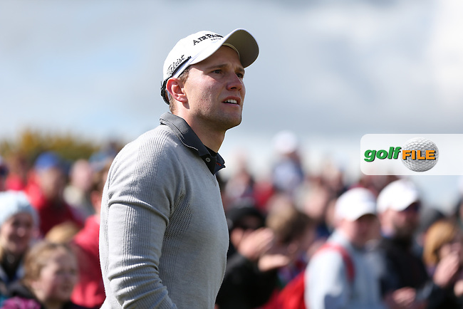 Maximilian Kieffer (GER) during the 2015 Dubai Duty Free Irish Open Hosted by The Rory Foundation at Royal County Down Golf Club, Newcastle County Down, Northern Ireland. 30/05/2015. Picture David Lloyd | www.golffile.ie